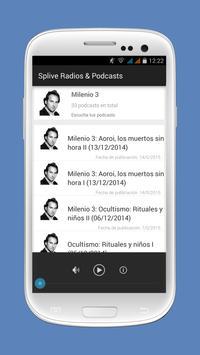 Radios y Podcasts España apk screenshot