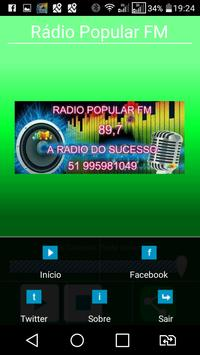 Rádio Popular fm apk screenshot