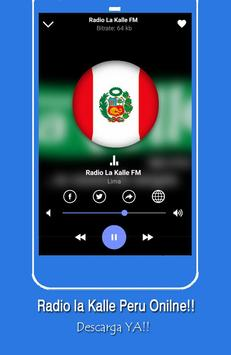 Radio la Kalle Peru Live for Free screenshot 4