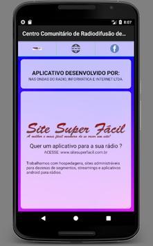 Centro Comunitário de Radiodifusão Santa Quitéria screenshot 2