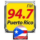94.7 FM Puerto Rico Radio Puerto Rico Gratis icon