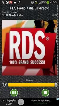 RDS Radio FM Italia En directo screenshot 1