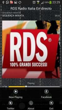 RDS Radio FM Italia En directo screenshot 2