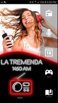 La Tremenda 1460 Radios de Estados Unidos Español poster