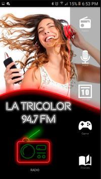 La Tricolor 94.7 radios de estados unidos español الملصق