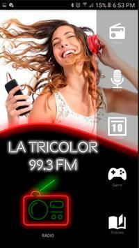 La Tricolor 99.3 radios de estados unidos español poster