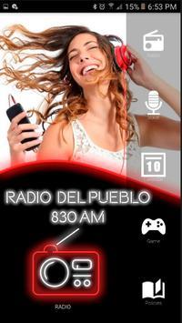 Radio del Pueblo AM 830 Radios Argentinas poster