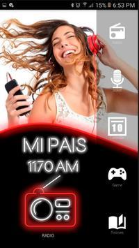 Radio mi Pais am 1170 Radios Argentinas poster