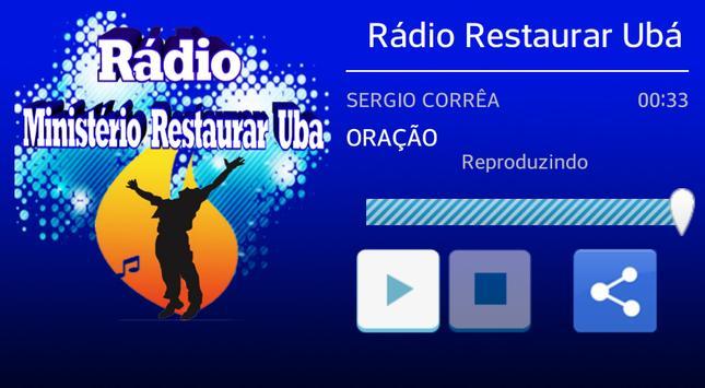 Rádio Ministerio Restaurar Ubá screenshot 2