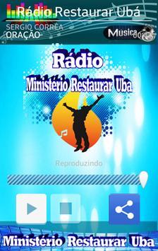 Rádio Ministerio Restaurar Ubá screenshot 6