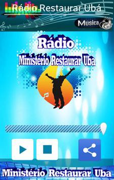 Rádio Ministerio Restaurar Ubá screenshot 7