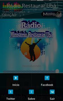 Rádio Ministerio Restaurar Ubá screenshot 9