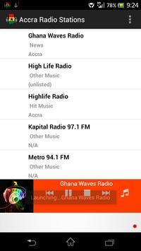 Accra Radio Stations screenshot 3