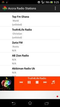 Accra Radio Stations screenshot 4