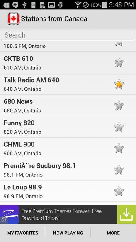 Radio Canada For Android