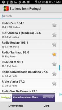 Radio Portugal apk screenshot
