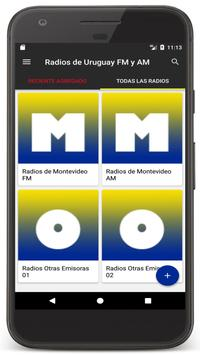Radios Uruguay - Radio FM / Uruguay Radio Online poster