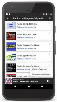 Radios Uruguay - Radio FM / Uruguay Radio Online apk screenshot