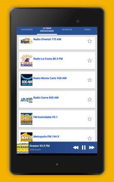 Radio Uruguay - Radio AM FM Uruguay + Radio Online screenshot 13