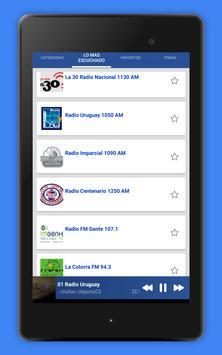 Radio Uruguay - Radio AM FM Uruguay + Radio Online screenshot 15
