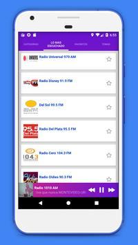 Radio Uruguay - Radio AM FM Uruguay + Radio Online screenshot 19