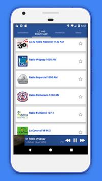 Radio Uruguay - Radio AM FM Uruguay + Radio Online screenshot 7