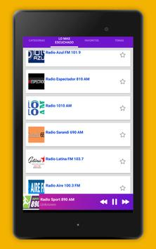 Radio Uruguay - Radio AM FM Uruguay + Radio Online screenshot 9