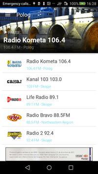 Macedonian Radio screenshot 7