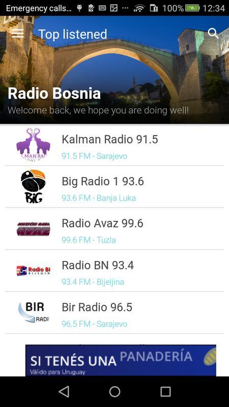 Bir radio download.