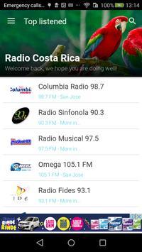 Costa Rica Radio FM - AM poster