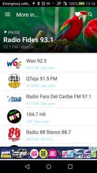 Costa Rica Radio FM - AM screenshot 11