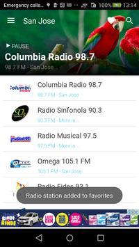 Costa Rica Radio FM - AM screenshot 1