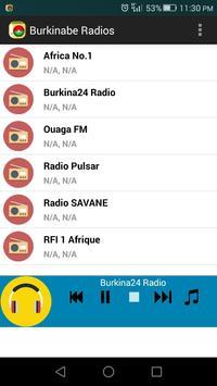 Burkinabe Radios screenshot 3