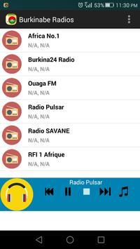 Burkinabe Radios screenshot 1