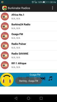 Burkinabe Radios screenshot 2