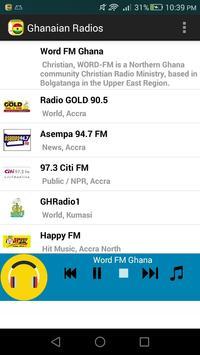 Ghanaian Radios poster