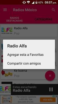 Radios Mexico screenshot 4