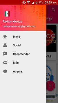 Radios Mexico screenshot 5