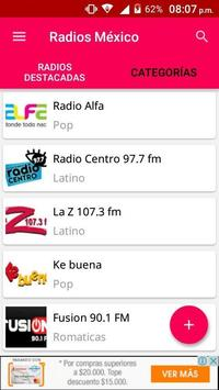 Radios Mexico poster