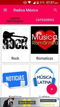 Radios Mexico screenshot 1