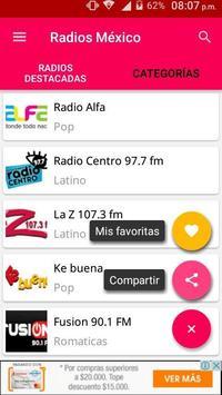 Radios Mexico screenshot 3