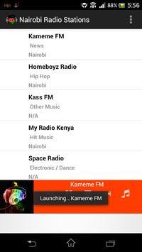 Nairobi Radio Stations poster