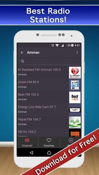 📻 Jordan Radio FM & AM Live! screenshot 10