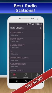 📻 Lithuania Radio FM AM Live! screenshot 8