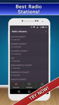 📻 Lithuania Radio FM AM Live! screenshot 2
