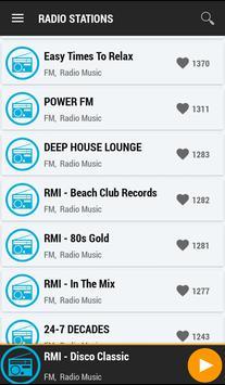 Radio European screenshot 1