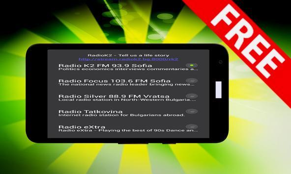 Radio Bulgaria Stations apk screenshot