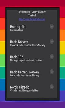 Radio Norway Stations poster