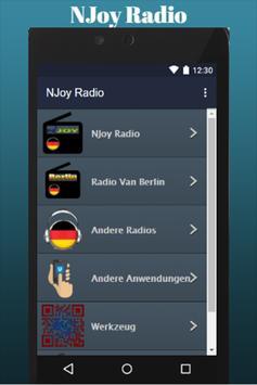 NJoy Radio screenshot 2