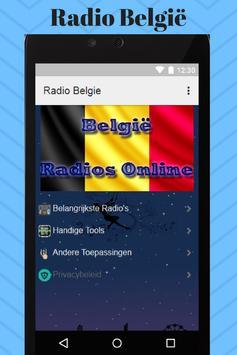 Radio België screenshot 1